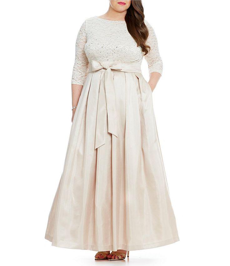 1000 images about size 16 brides on pinterest plus for Lace top plus size wedding dress