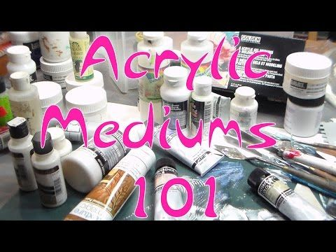 The Frugal Crafter's Guide to Acrylic Mediums {Chart included!} | Thefrugalcrafter's Weblog