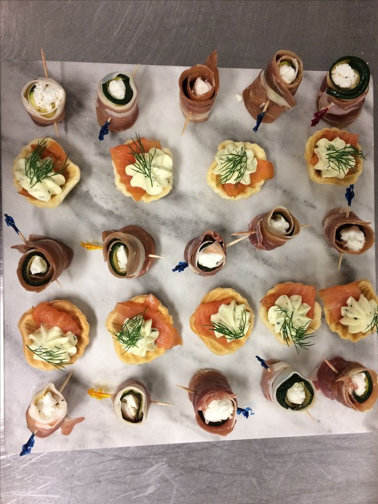Delicious canapés at Highfields Cultural Centre, Toowoomba Weddings