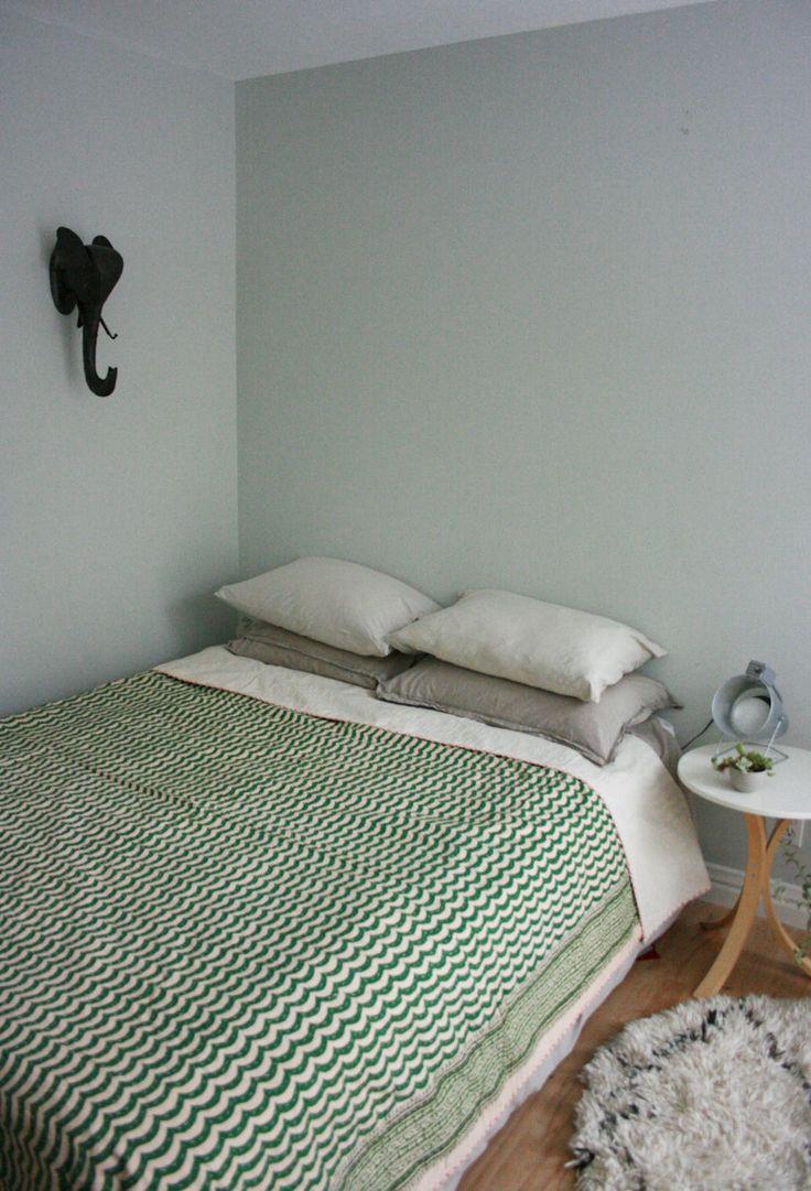 Hand Block Bed Cover or Blanket in Queen Size