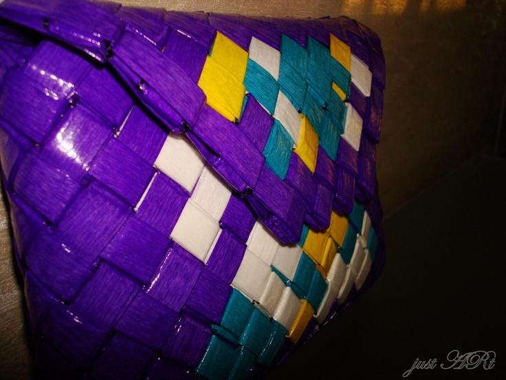 Tweeling - custom made paper clutch  $55