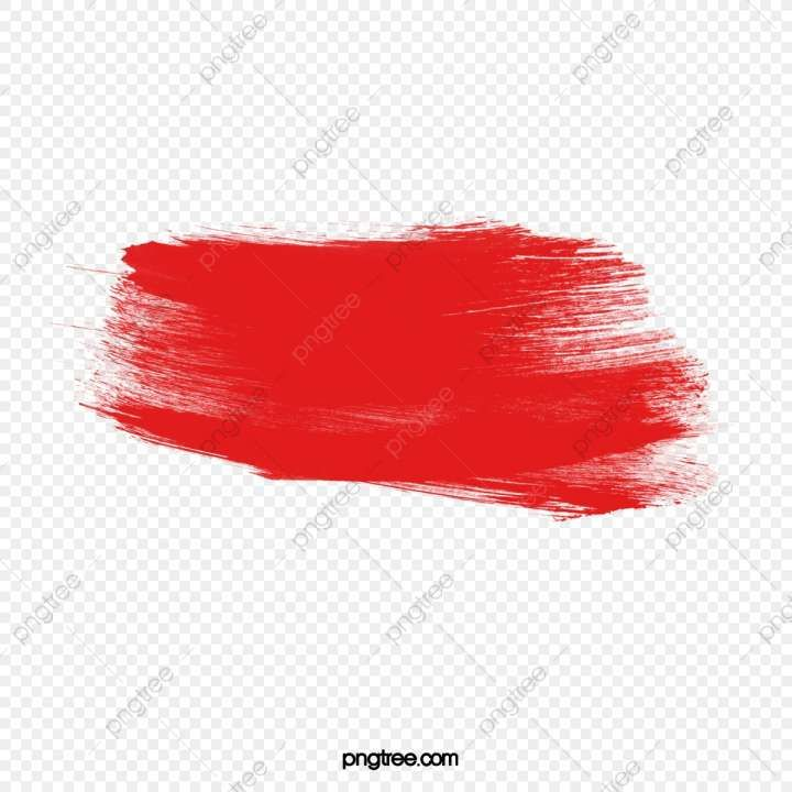 10 Brush Paint Png Painting Red Pattern Background Banner