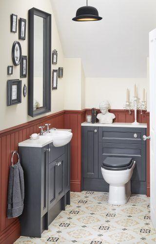 Big ideas for cloakroom bathrooms from Utopia Bathrooms.
