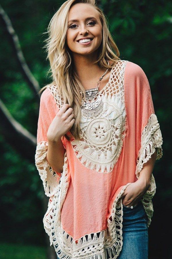 Summer Crochet Boho Tunic! | Jane