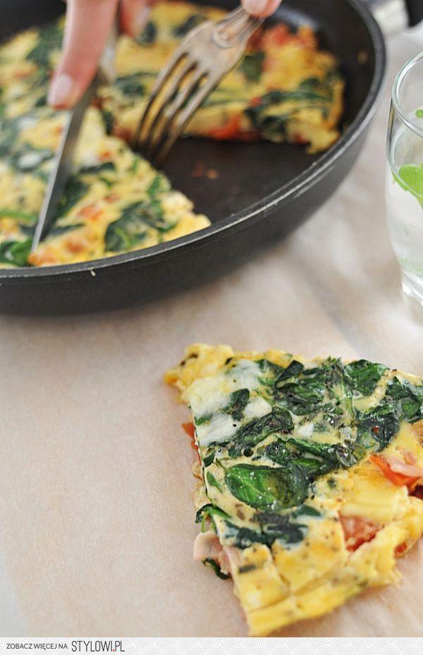Frittata! | Make Cooking Easier Skład: 6 dużych jajek… na Stylowi.pl