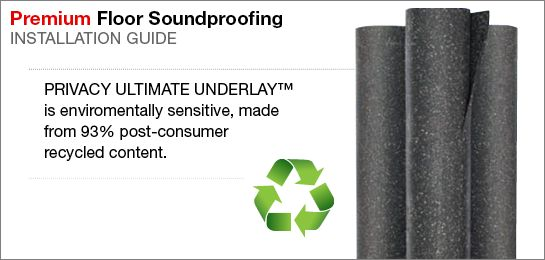 Ultimate Carpet Underlay | Sound Isolation Company