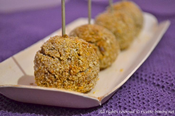Polpette di lenticchie Bimby • Ricette Bimby