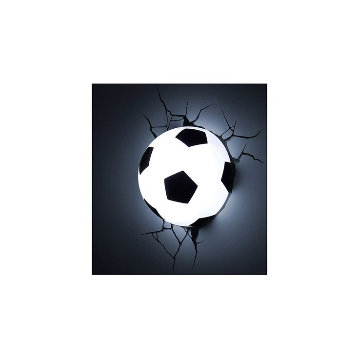 3D Lamp - Voetbal gadgets, kado's en originele cadeau