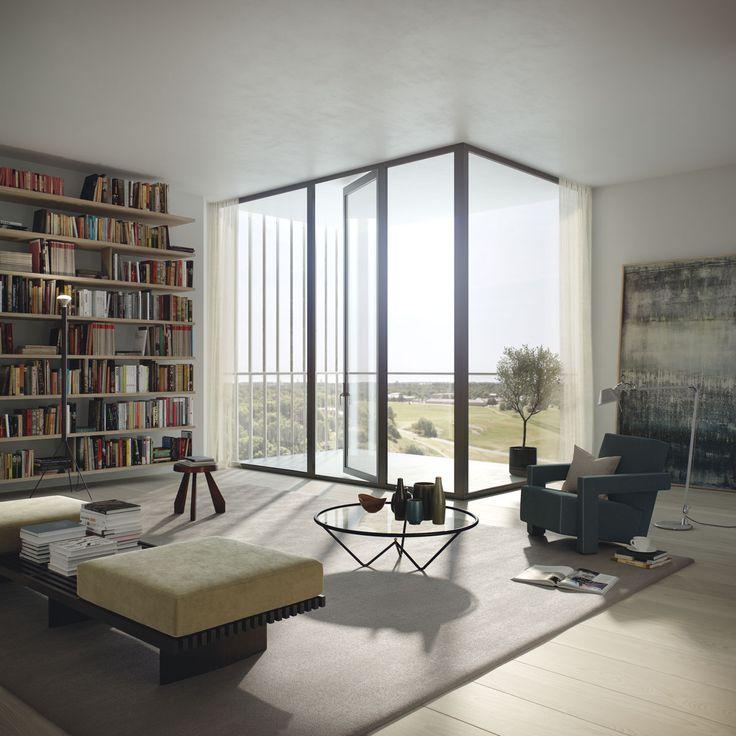 Oscar Properties #oscarproperties BIG, Stockholm, terrace, interior, design, architecture