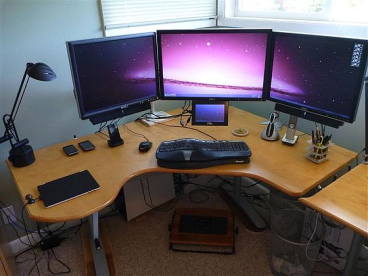 Elegant 21 Creative DIY Computer Desk You Can Try [Simple Is Beautiful] Part 8