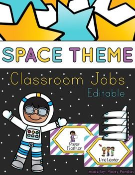 25 best space theme classroom ideas on pinterest space for Jobs in outer space