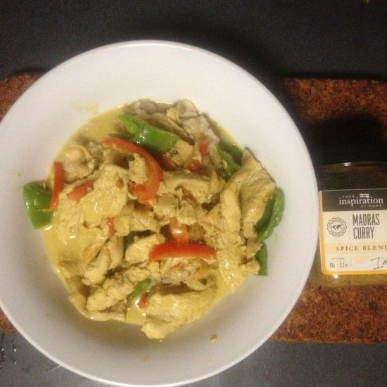 Your Inspiration at Home Easy Chicken Curry. #YIAH #Madras Curry www.yourinspirationathome.com.au