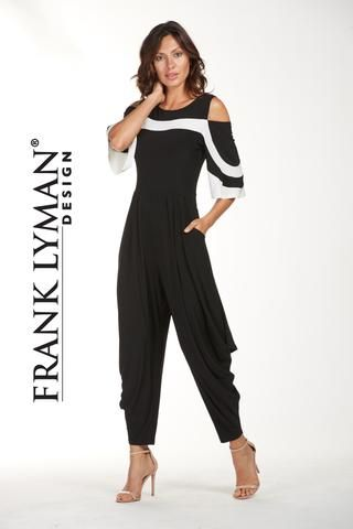 cd6a2c928569 Super chic one piece harem style jumpsuit. Proudly Made in Canada