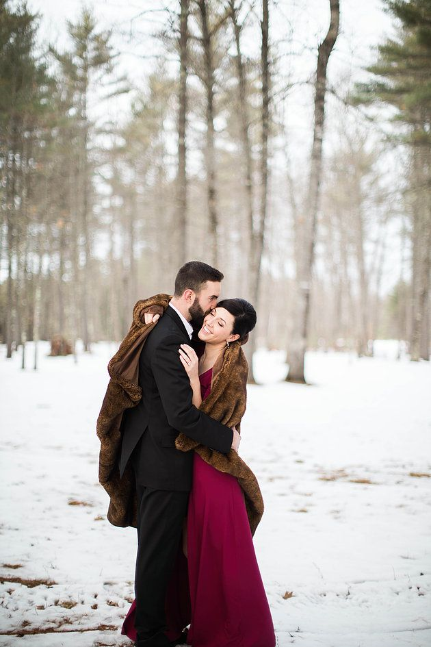 A.Fogarty Photography | Formal Winter Engagement Photos