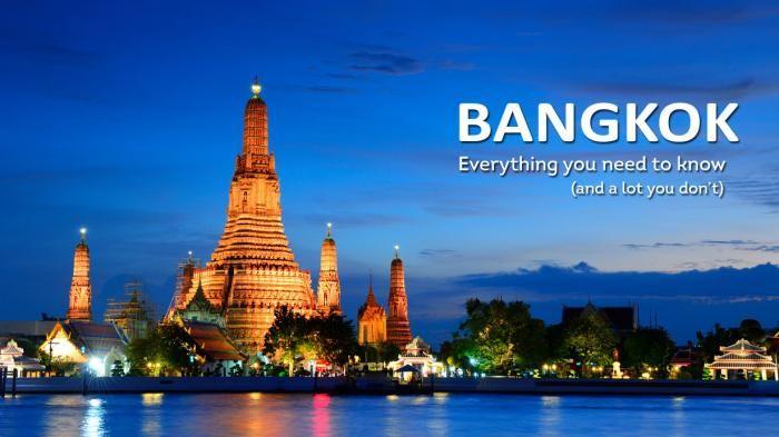 Traveling Thailand - Ini Sederet Tempat yang Wajib Dikunjungi Saat ke Bangkok