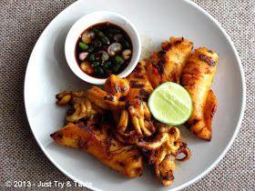 Just Try & Taste: Cumi-Cumi Panggang Saus Kecap