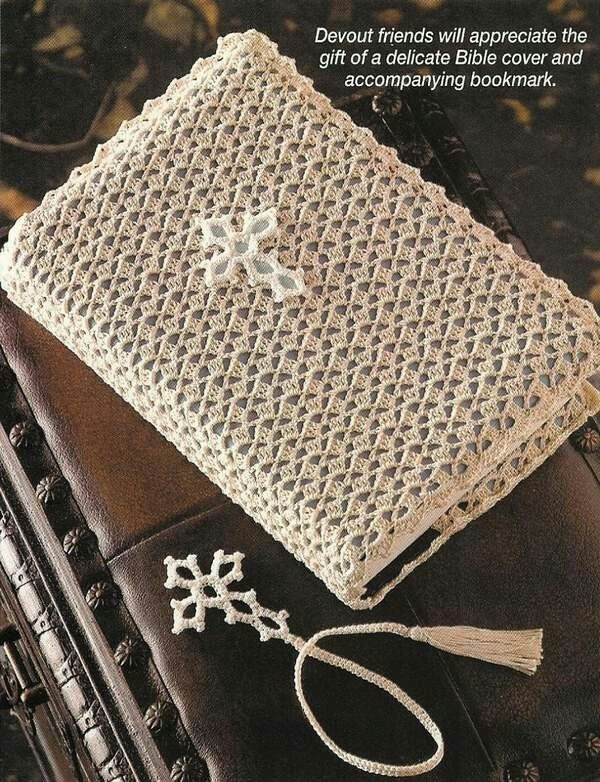 Easy Crochet Bible Cover Pattern : Bible cover crochet Pinterest Crosses, The ojays ...