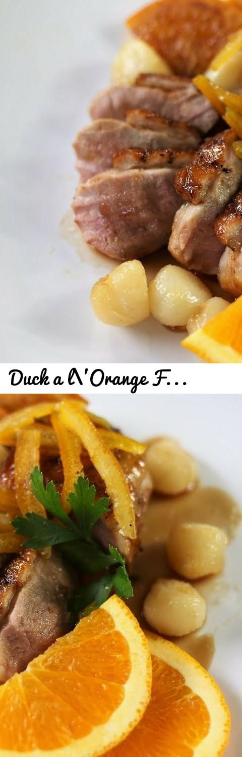 Duck a l'Orange French Recipe - Duck Breasts With Orange Sauce... Tags: french cuisine, french food, French Cooking Academy, duck a l'orange recipe, duck a l'orange, duck a l'orange french recipe, how to cook duck a l'orange, how to prepare duck a l'orange, real duck a l'orange, french christmas dinner dish, duck orange for christmas, duck with french orange sauce, duck with sweet orange sauce, duck breasts with orange sauce, duck breasts a l'orange, duck a l'orange step by step, christmas…