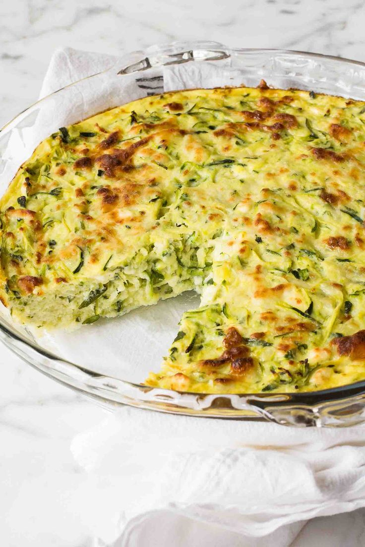 Zucchini-Feta Frittata | Simply Recipes | Put your extra zucchini to good use in this hearty vegetarian frittata! It's full of shredded zucchini, potato, feta, and Monterey jack cheese