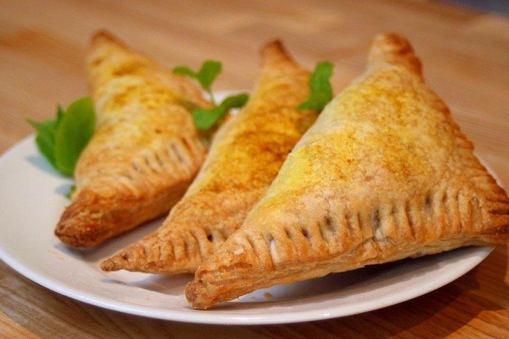 Ethiopische linzenflapjes, bladerdeeg, sambusa's, vegetarisch, veganistisch