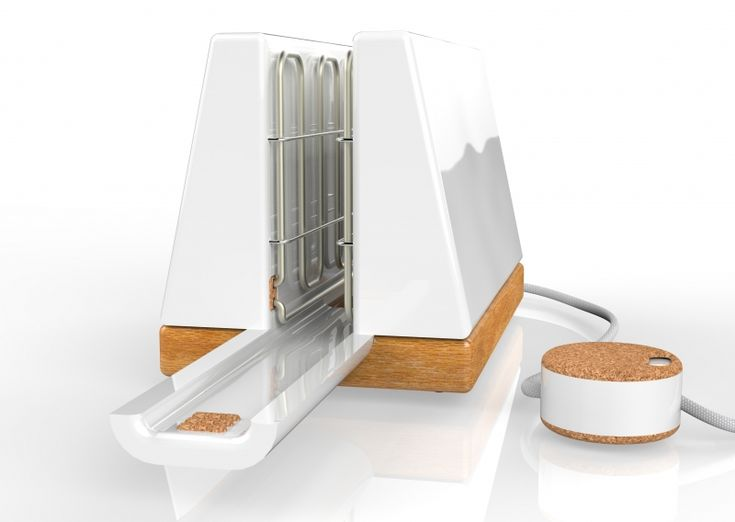 The Tempus Toaster by Sam Whitaker is a new concept designed with a longer life approach. It has been designed with sustainable materials, a screw-less body and no mechanisms, featuring a unique external timer and slider.  With an Oak base, Ceramic body and Cork features, the whole product can simply by lifted apart for repairs or replacements if needed. Features such as the exposed grill toasting element, cork components and thumb grips only  compliment the shape and form of the ...