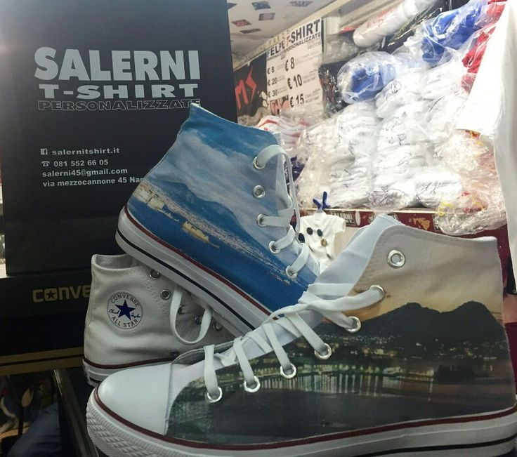 Converse personalizzate....night and Day!  #conversepersonalizzate