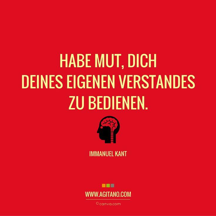 Immanuel Kant: Habe Mut, dich deines …