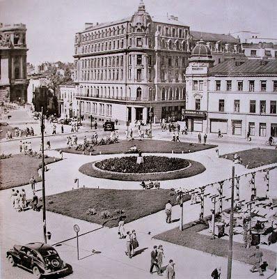 locuri în Bucureşti...: Blocul ce se construieşte în faţa Casei Centrale a Armatei