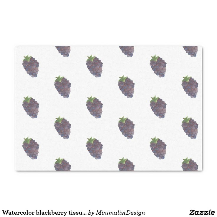 Watercolor blackberry tissue paper tissue paper tile art, tissue paper watercolor art, tissue paper fruit decoration, tissue paper purple, tissue paper blackberry, blackberry watercolor painting, blackberry paintings, violet tissue  Copyright © 2017, Anca Ioviţă #zazzle #minimalism