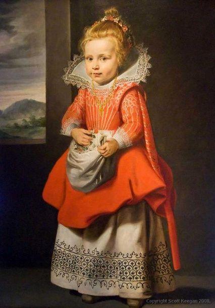 Portrait of a Child - Cornelis de Vos