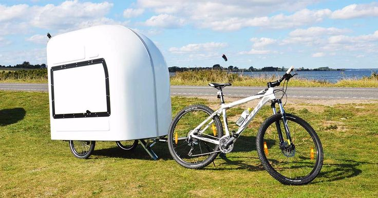 Tiny and compact - you'd never suspect what's hiding inside of this ultra-light teardrop trailer.