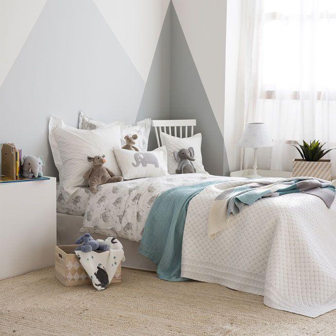 Elephant Print Bed Linen