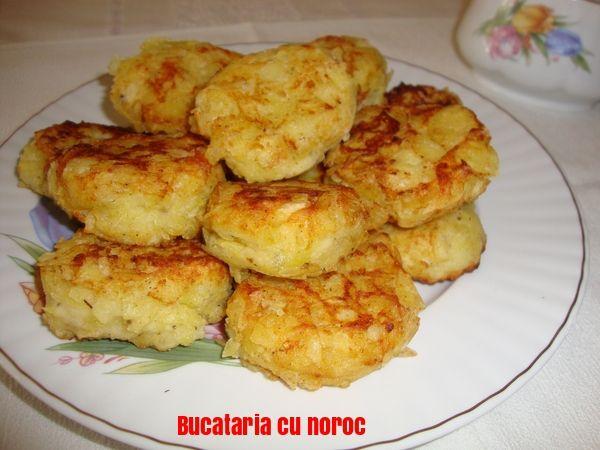 Crochete de cartofi cu crusta de chipsuri - Bucataria cu noroc