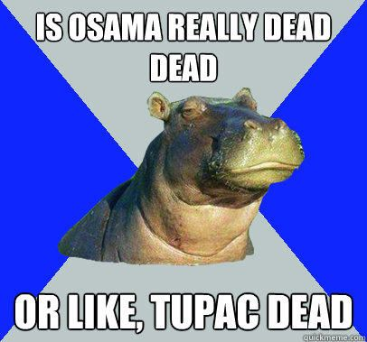 Is osama really dead dead or like, tupac dead - http://localmarketingreport.net/is-osama-really-dead-dead-or-like-tupac-dead/