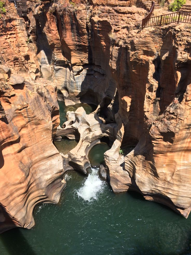 Bourke's Luck Potholes, Blyderiver Canyon, South Africa.