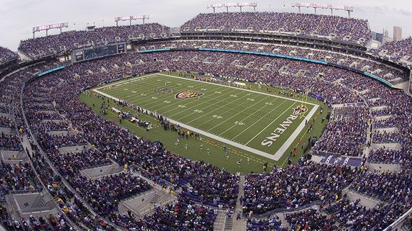 M Bank Stadium -- Baltimore Ravens    http://mlv.com/index.php/sports-entertainment/philadelphia-sports-packages/eagles-packages/philadelphia-at-new-york-eagles-giants-108.html