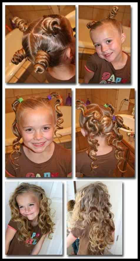 Tolle 15 Frisur Ideen für kleine süße Mädchen – Frisuren