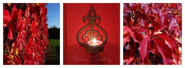 Filine: Herbstliche Gemütlichkeit mit Bolsius Kerzen ins H...