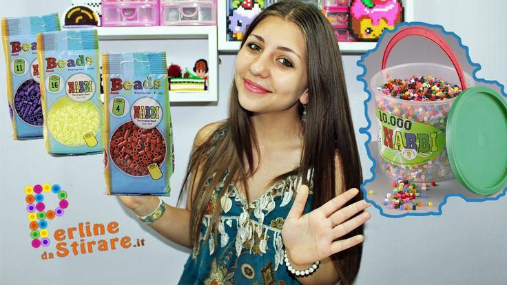 Acquisti creativi Perline da Stirare Hama Beads ✿ Beads Nabbi✿ www.perli...