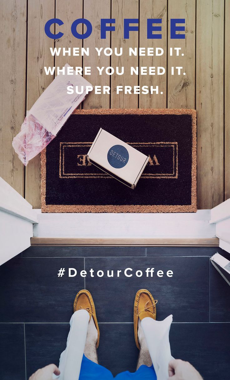 Detour Coffee Subscriptions let you personalize your very own coffee delivery service. Fresh roasted coffee, on your doorstep!! That's luxurious...