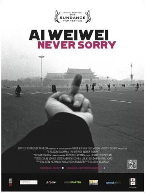 CINE(EDU)-995. Ai Weiwei: never sorry. Dir. Alison Klayman. Documental. EEUU, 2012. Película sobre o famoso artista e activista chinés Ai  Weiwei. Nos últimos anos,  Weiwei captou a atención internacional tanto pola súa ambiciosa obra como polas súas provocacións políticas. O filme analiza a confluencia entre arte e activismo social a través da vida e a creación dos artistas contemporáneos máis importantes de China. http://kmelot.biblioteca.udc.es/record=b1654771~S1*gag