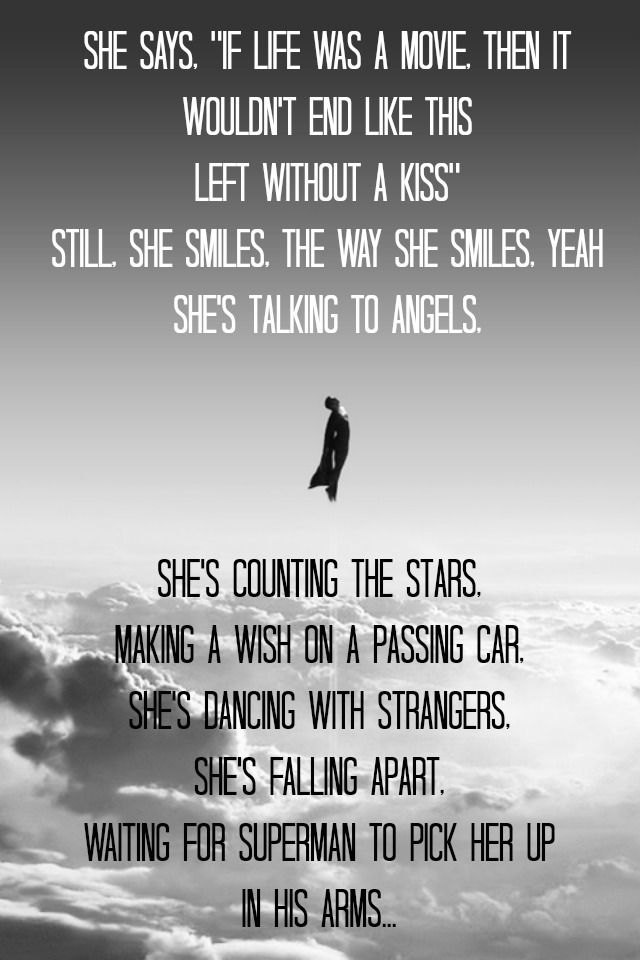 Waiting for superman..