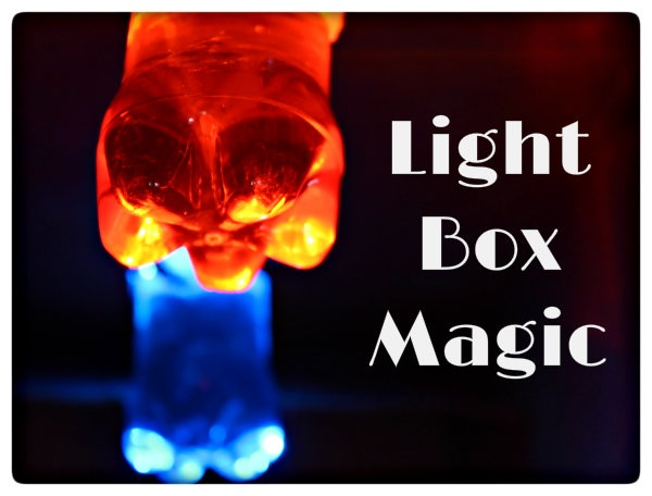 Sunlight Science - A very cool light experiment. Make a box to create the dark space to see the light that shines through!