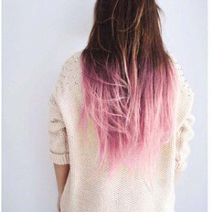 dip dye hair black to brown - photo #33