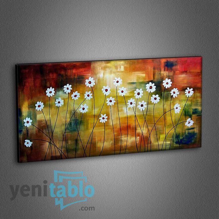 Divine Daisies Tablo http://www.yenitablo.com/c31-divine-daisies-tablo  #yenitablo #tablo #papatyalar #papatya #divinedaisies #daisies #kanvastablo #kanvas #canvas
