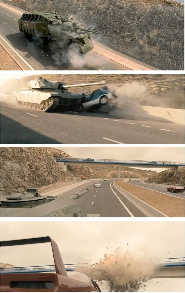 Fast  Furious 6 TEAM HAVE A TANK!