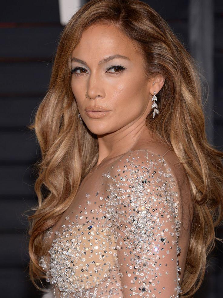 Jennifer Lopez ya luce las mechas tiger eye