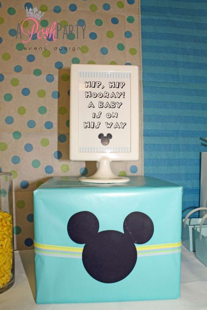 Mickey Mouse Baby Shower Party Ideas   Photo 21 of 55   Catch My Party