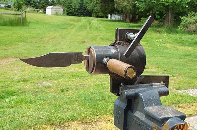knife making clamps   Knife Vise Construction Details