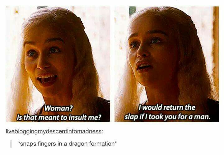 *snaps fingers in a dragon formation*- love that look of disgust she gets